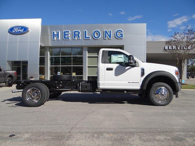 2021 Ford F-450 Regular Cab DRW 4x4, Cab Chassis #T6513 - photo 9