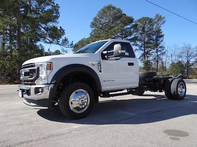 2021 Ford F-450 Regular Cab DRW 4x4, Cab Chassis #T6513 - photo 4