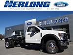 2021 Ford F-450 Regular Cab DRW 4x4, Cab Chassis #T6513 - photo 1