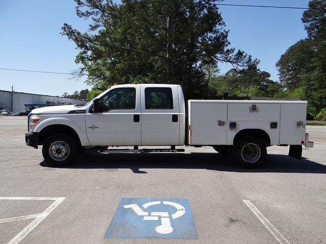 2012 Ford F-350 Crew Cab DRW 4x4, Service Body #T65511 - photo 10