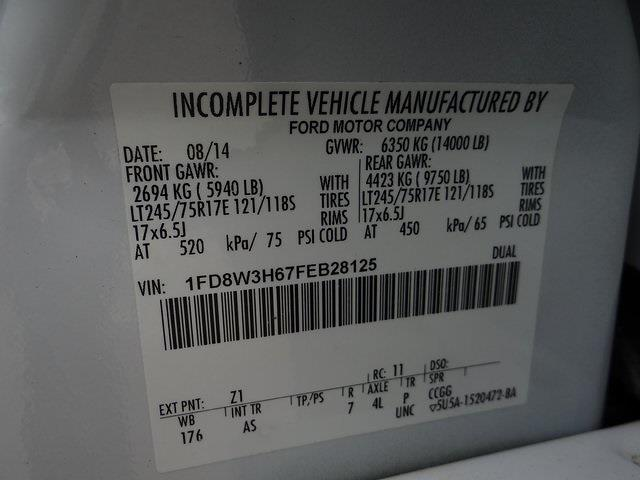 2015 Ford F-350 Crew Cab DRW 4x4, Service Body #T65531 - photo 27