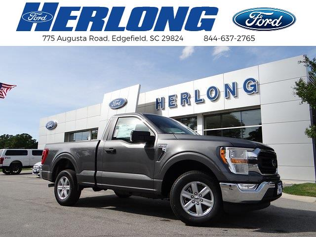 2021 Ford F-150 Regular Cab 4x2, Pickup #T6617 - photo 1