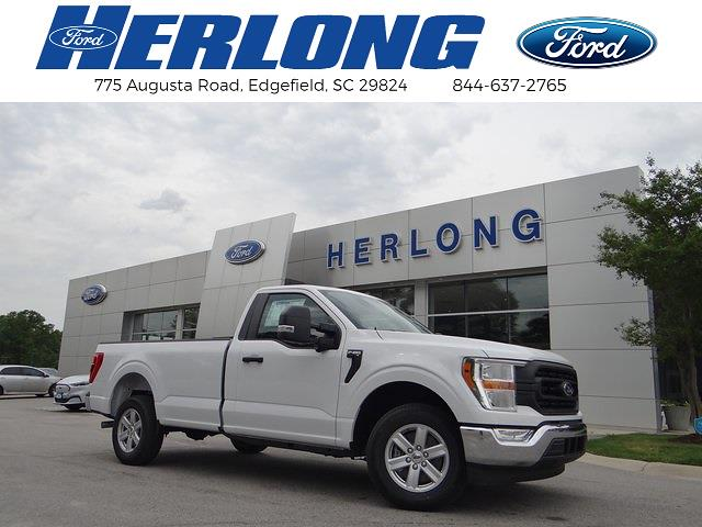 2021 Ford F-150 Regular Cab 4x2, Pickup #T6619 - photo 1
