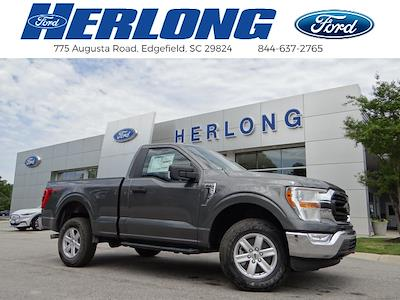 2021 Ford F-150 Regular Cab 4x4, Pickup #T6625 - photo 1