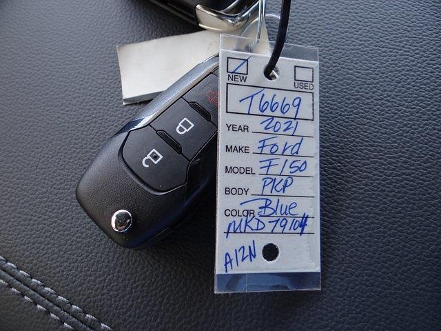 2021 Ford F-150 SuperCrew Cab 4x4, Pickup #T6669 - photo 32