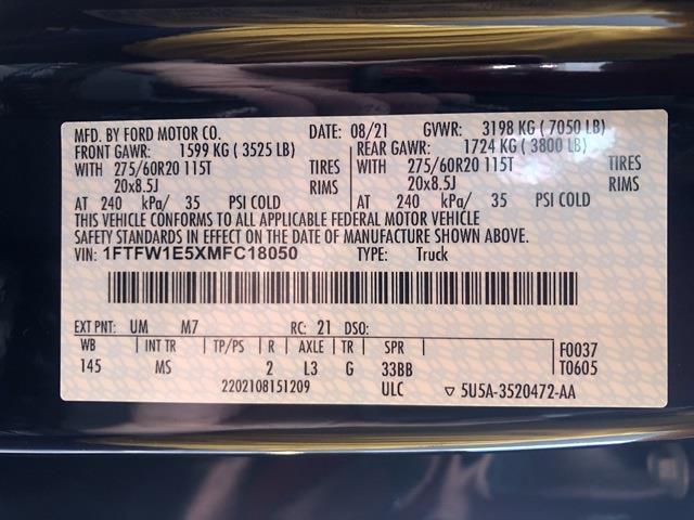 2021 F-150 SuperCrew Cab 4x4,  Pickup #T6720 - photo 30