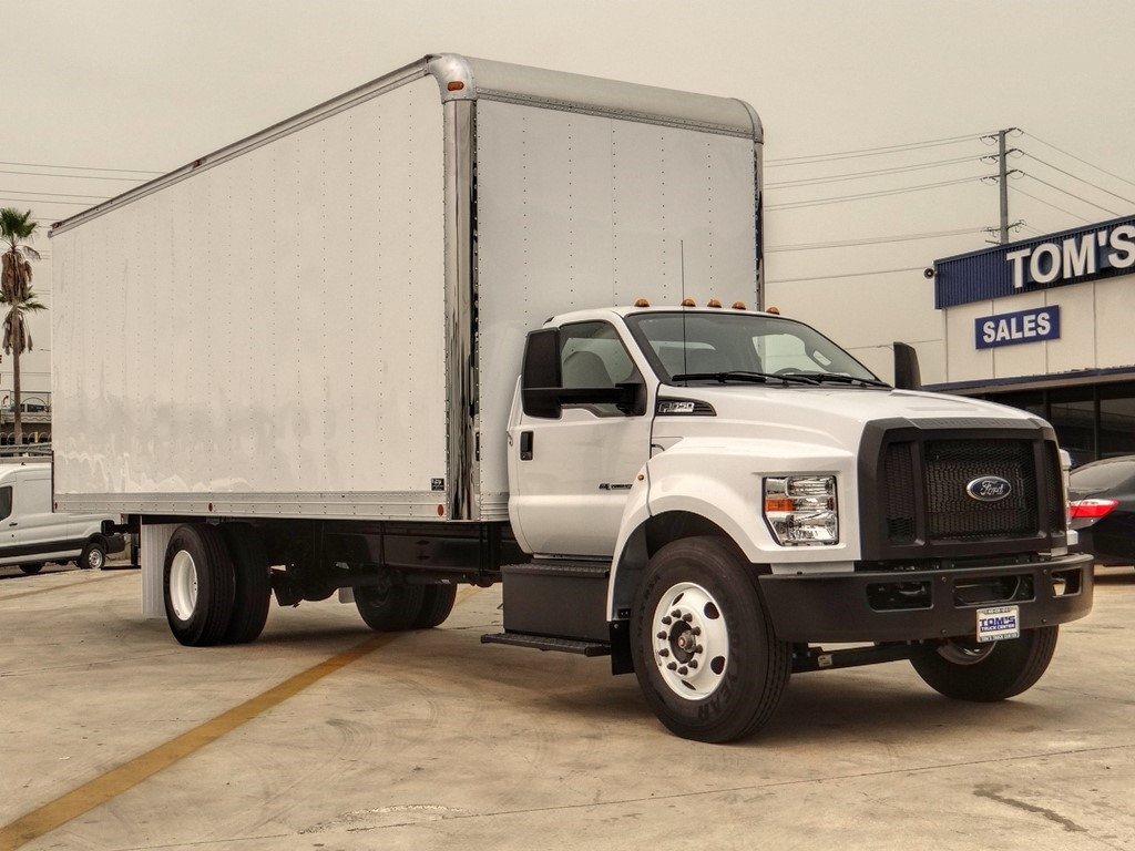2019 Ford F-650 Regular Cab DRW 4x2, Complete Dry Freight #FF00623 - photo 1