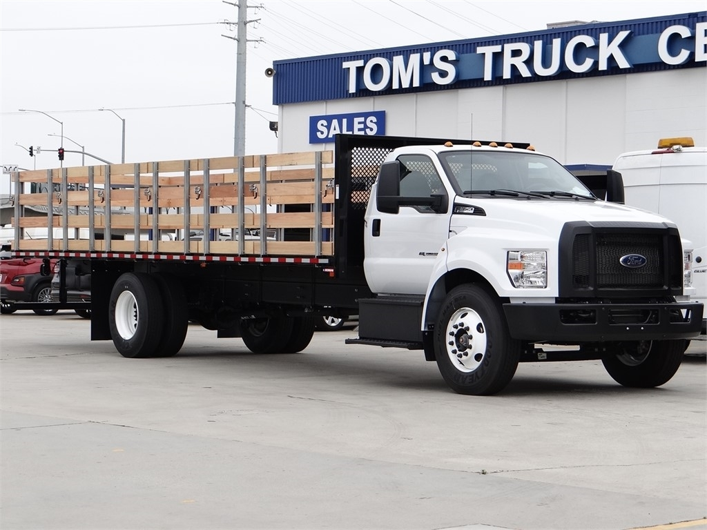 2021 Ford F-650 Regular Cab DRW 4x2, Morgan Stake Bed #FF00763 - photo 1