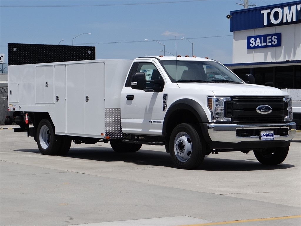 2019 Ford F-550 Regular Cab DRW 4x2, Pacific Truck Equipment Inc. Saw Body #FG76056 - photo 1
