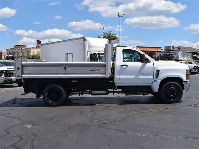 2021 Silverado 5500 Regular Cab DRW 4x2,  Henderson Dump Body #CT06920 - photo 22