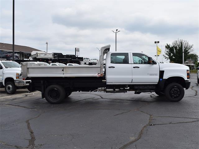 2021 Silverado 6500 Crew Cab DRW 4x4,  Monroe Truck Equipment MTE-Zee Dump Body #CT06955 - photo 26