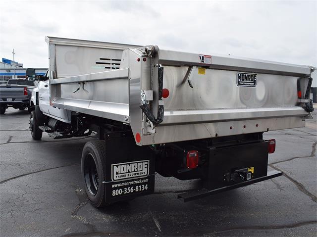 2021 Silverado 6500 Crew Cab DRW 4x4,  Monroe Truck Equipment MTE-Zee Dump Body #CT06955 - photo 7