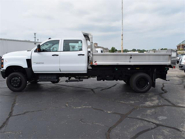 2021 Silverado 6500 Crew Cab DRW 4x4,  Monroe Truck Equipment MTE-Zee Dump Body #CT06955 - photo 8
