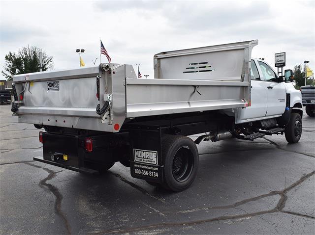 2021 Silverado 6500 Crew Cab DRW 4x4,  Monroe Truck Equipment MTE-Zee Dump Body #CT06955 - photo 25