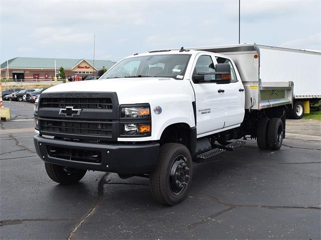 2021 Silverado 6500 Crew Cab DRW 4x4,  Monroe Truck Equipment MTE-Zee Dump Body #CT06955 - photo 3