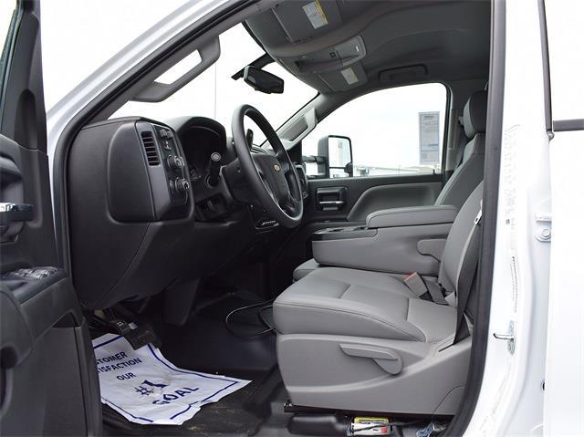 2021 Silverado 6500 Crew Cab DRW 4x4,  Monroe Truck Equipment MTE-Zee Dump Body #CT06955 - photo 12