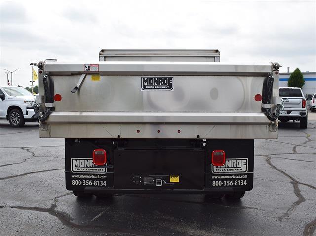 2021 Silverado 6500 Crew Cab DRW 4x4,  Monroe Truck Equipment MTE-Zee Dump Body #CT06955 - photo 27