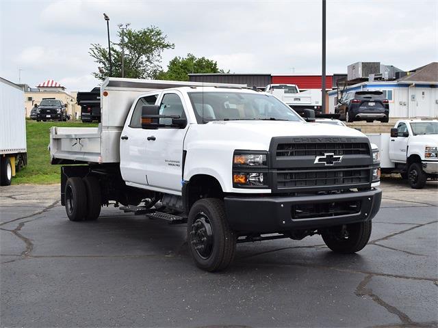 2021 Silverado 6500 Crew Cab DRW 4x4,  Monroe Truck Equipment MTE-Zee Dump Body #CT06955 - photo 46