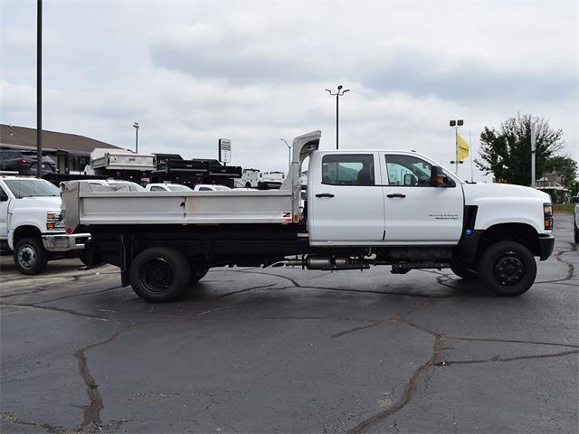 2021 Silverado 6500 Crew Cab DRW 4x4,  Monroe Truck Equipment MTE-Zee Dump Body #CT06955 - photo 56
