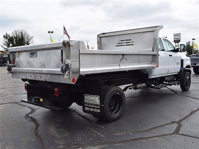 2021 Silverado 6500 Crew Cab DRW 4x4,  Monroe Truck Equipment MTE-Zee Dump Body #CT06955 - photo 47
