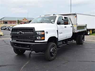 2021 Silverado 6500 Crew Cab DRW 4x4,  Monroe Truck Equipment MTE-Zee Dump Body #CT06955 - photo 50
