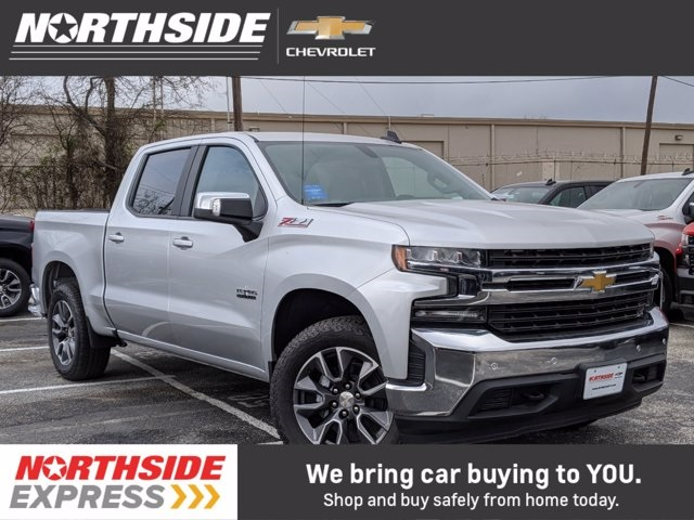 2020 Chevrolet Silverado 1500 Crew Cab 4x4, Pickup #167785 - photo 1