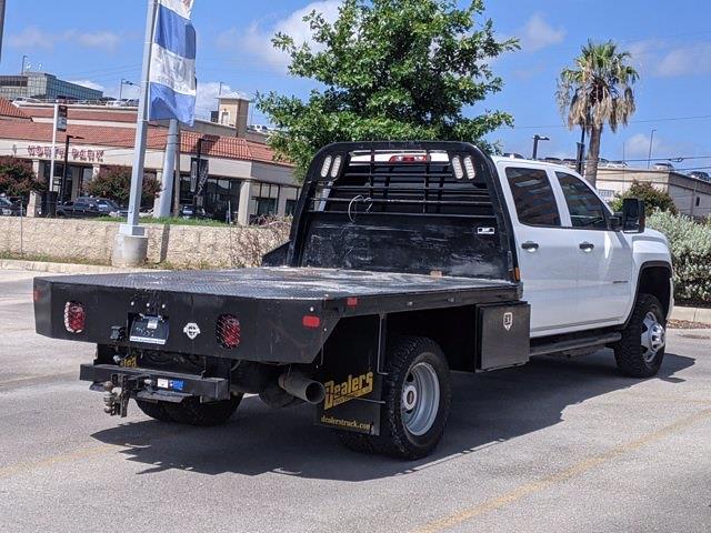 2019 GMC Sierra 3500 Crew Cab DRW 4x4, Platform Body #315459A - photo 1
