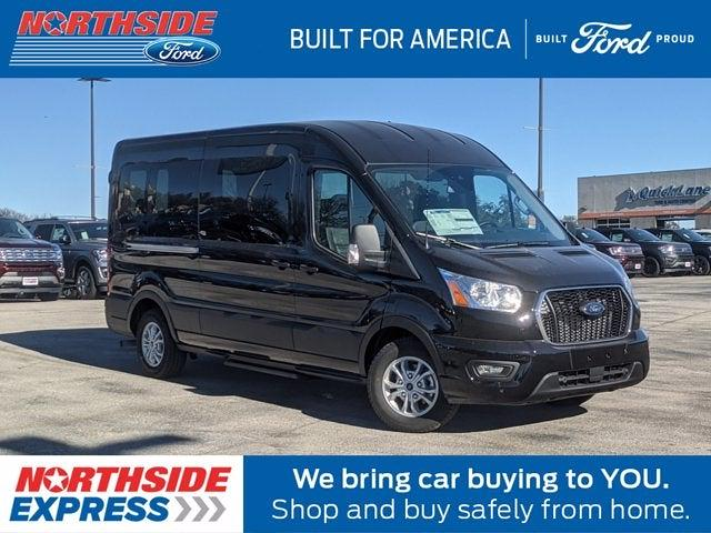 2021 Ford Transit 350 Medium Roof 4x2, Passenger Wagon #A11659 - photo 1