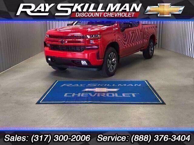 2021 Chevrolet Silverado 1500 Double Cab 4x4, Pickup #T10086 - photo 1