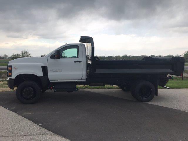 2021 Silverado 5500 Regular Cab DRW 4x4,  Knapheide Drop Side Dump Body #T10538 - photo 4