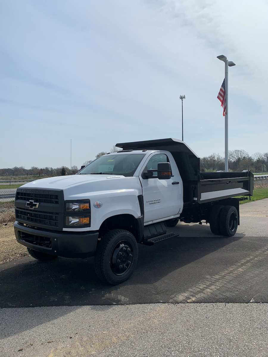 2021 Chevrolet Silverado Medium Duty Regular Cab DRW 4x4, Knapheide Dump Body #T10538 - photo 1