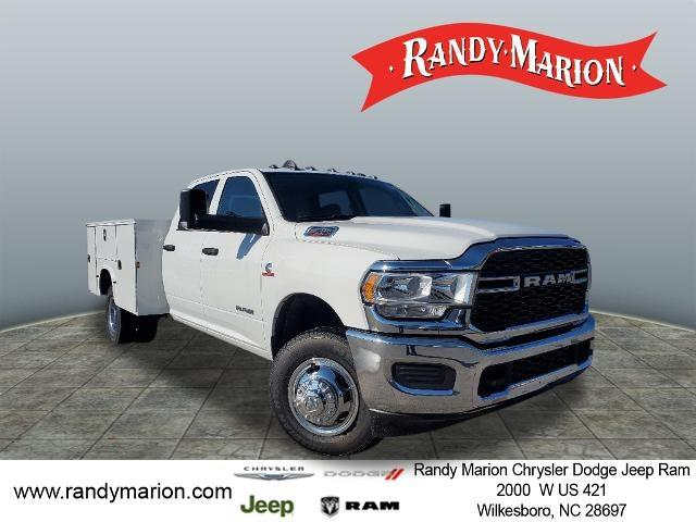 2020 Ram 3500 Crew Cab DRW 4x4, Knapheide Service Body #RM807 - photo 1