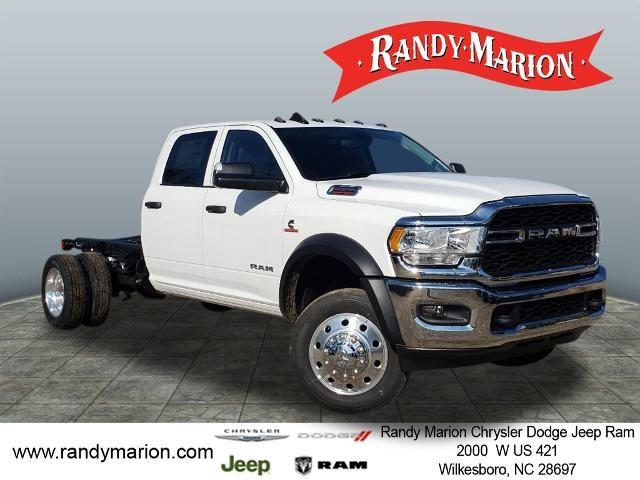2020 Ram 5500 Crew Cab DRW 4x4, Cab Chassis #RM823 - photo 1