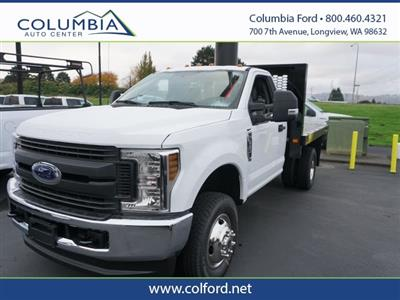 2019 F-350 Regular Cab DRW 4x4, Knapheide Platform Body #219321 - photo 1