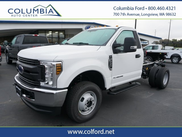 2019 Ford F-350 Regular Cab DRW 4x4, Cab Chassis #219369 - photo 1