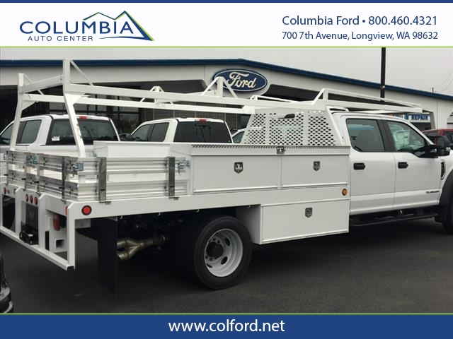 2019 F-550 Crew Cab DRW 4x4, Scelzi Contractor Body #219423 - photo 1