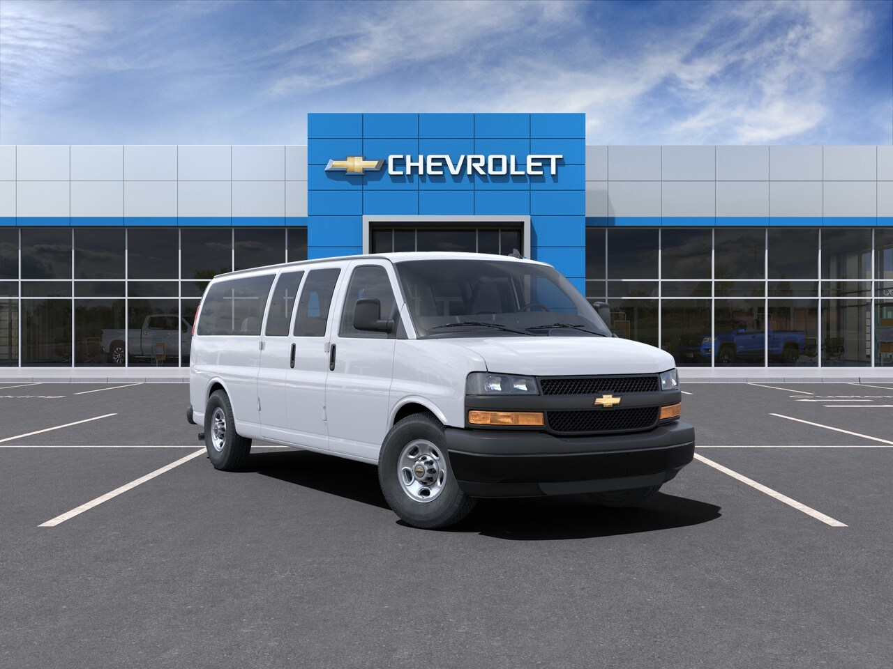2021 Chevrolet Express 3500 4x2, Passenger Wagon #FC21022 - photo 1