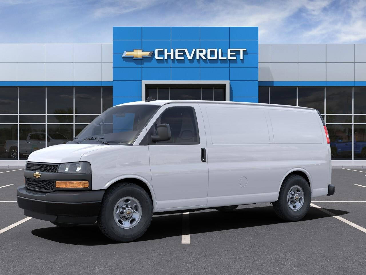 2021 Chevrolet Express 3500 4x2, Empty Cargo Van #FC21061 - photo 1