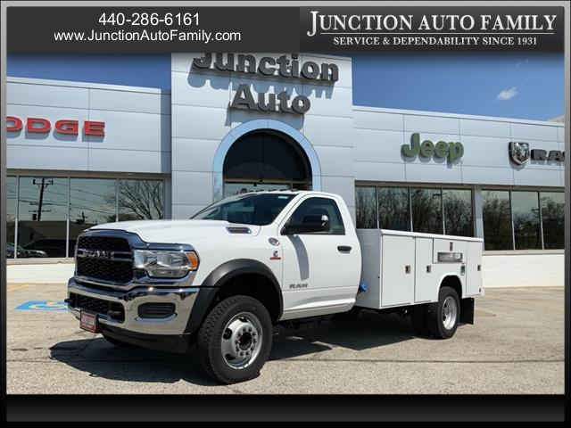 2019 Ram 5500 Regular Cab DRW 4x4, Reading Service Body #1429-19 - photo 1