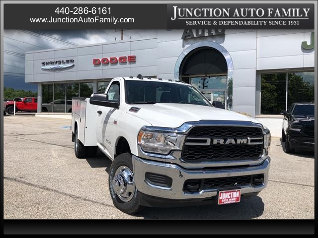 2019 Ram 3500 Regular Cab DRW 4x4, Reading Service Body #1441-19 - photo 1