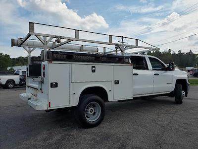 2016 Silverado 3500 Crew Cab 4x4,  Service Body #182218G - photo 9