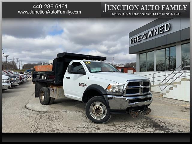 2014 Ram 5500 Regular Cab DRW 4x4, Dump Body #196310E - photo 1