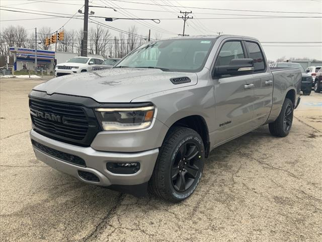 2021 Ram 1500 Quad Cab 4x4, Pickup #384-21 - photo 4