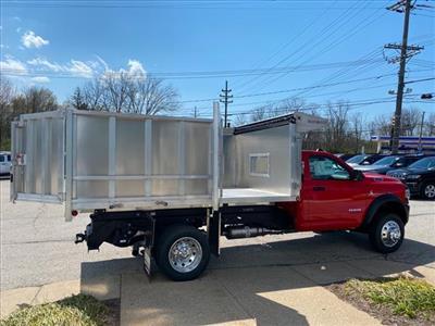 2020 Ram 5500 Regular Cab DRW 4x4, Duramag Aluminum Landscape Dump #662-20 - photo 6