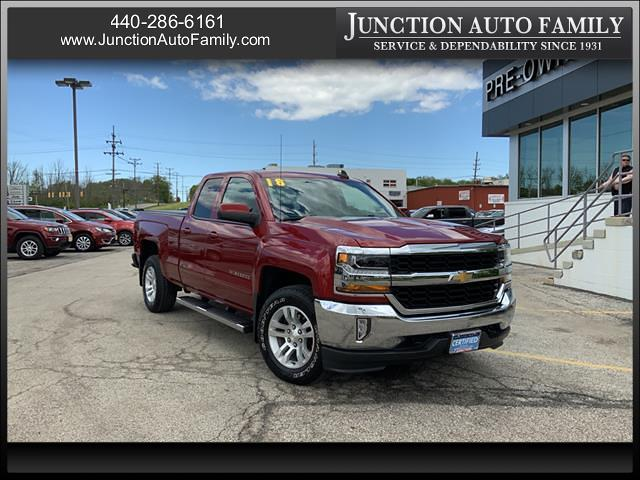 2018 Chevrolet Silverado 1500 Double Cab 4x4, Pickup #B363704J - photo 1