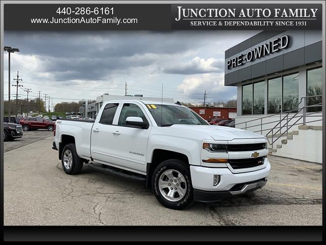 2018 Chevrolet Silverado 1500 Double Cab 4x4, Pickup #B373940J - photo 1