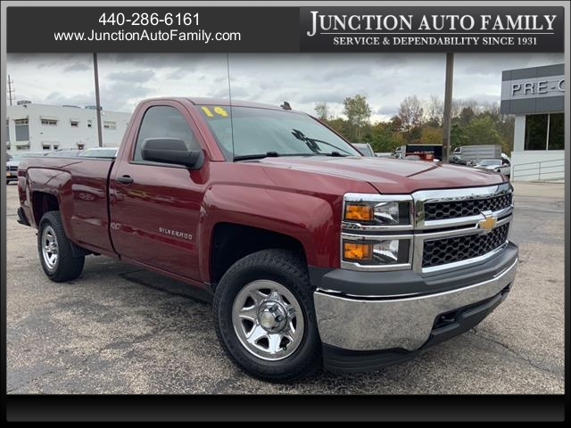 2014 Chevrolet Silverado 1500 Regular Cab 4x4, Pickup #B391853E - photo 1