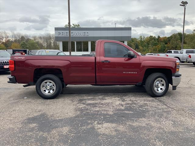 2014 Chevrolet Silverado 1500 Regular Cab 4x4, Pickup #B391853E - photo 13