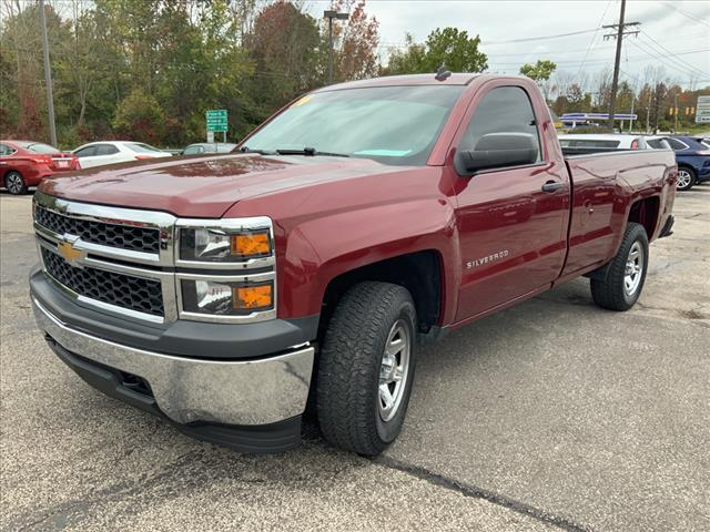 2014 Chevrolet Silverado 1500 Regular Cab 4x4, Pickup #B391853E - photo 4