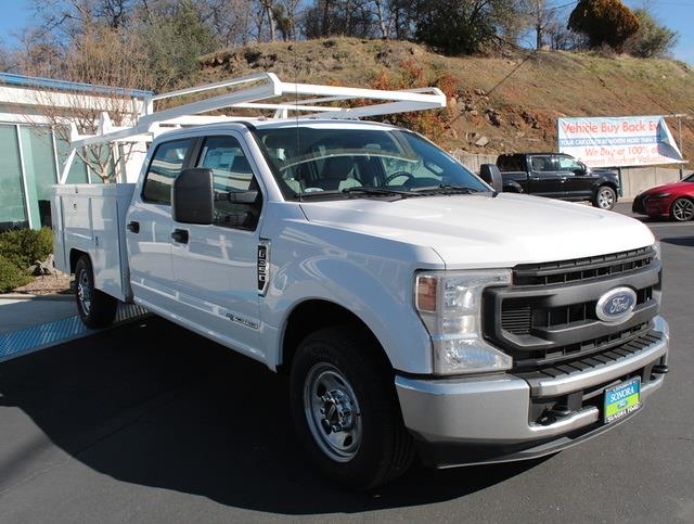 2021 Ford F-350 Crew Cab 4x2, Scelzi Service Body #21F077 - photo 1